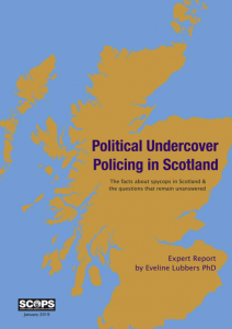 Political Undercover Policing in Scotland